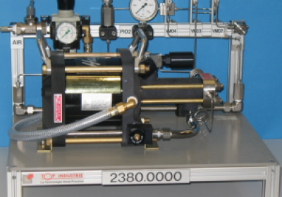Gas booster package